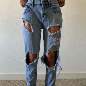 Brandy Melville Boy Friend Jeans